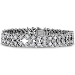 Hearts on Fire Aerial diamond bracelet as seen on Rihanna