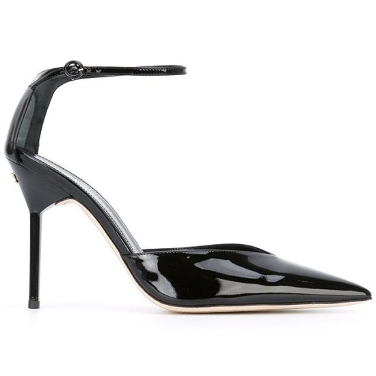 Nina Ricci ankle-strap pointed-toe pumps as seen on Rihanna
