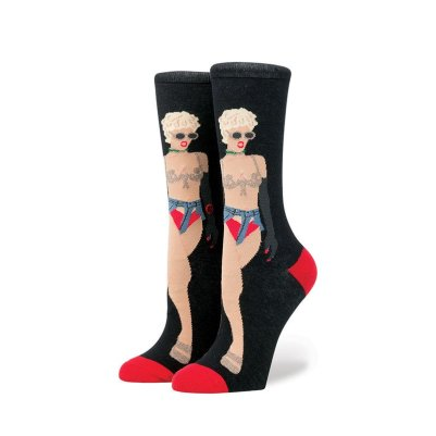 Rihanna x Stance Iconic Looks - Pour It Up music video socks