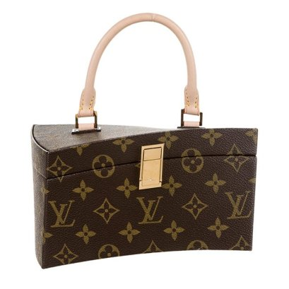 Louis Vuitton x Frank Gehry Twisted Box bag as seen on Rihanna