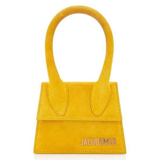 Jacquemus Le Sac Chiquito yellow handbag as seen on Rihanna
