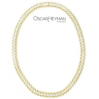 Oscar Heyman diamond necklace as seen on Rihanna
