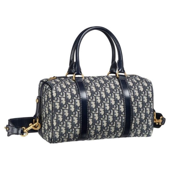 Dior Oblique vintage duffle bag as seen on Rihanna