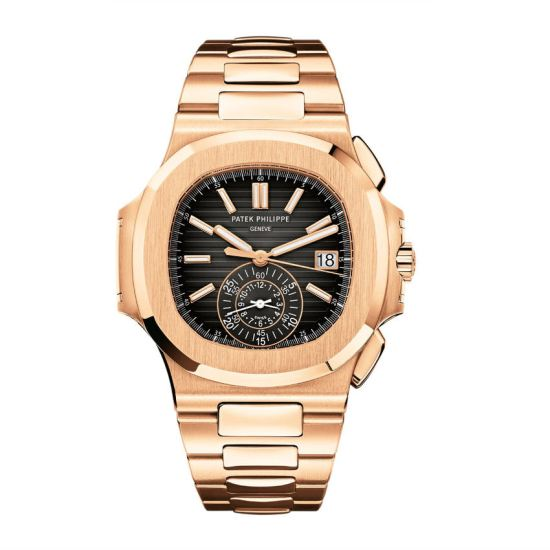 Patek Philippe Nautilus 5980 rose gold watch as seen on Rihanna