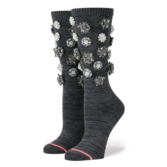 Rihanna x Stance Cold Hearted collection socks in black