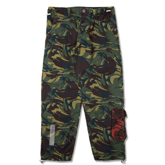 Off-White camo chino work pants as seen on Rihanna