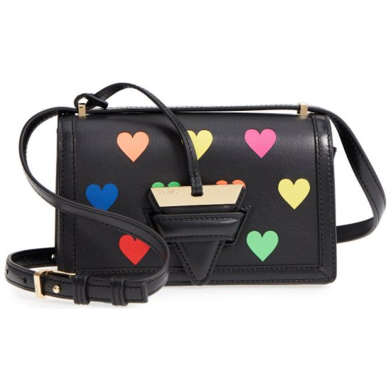 Loewe small Barcelona Hearts bag as seen on Rihanna