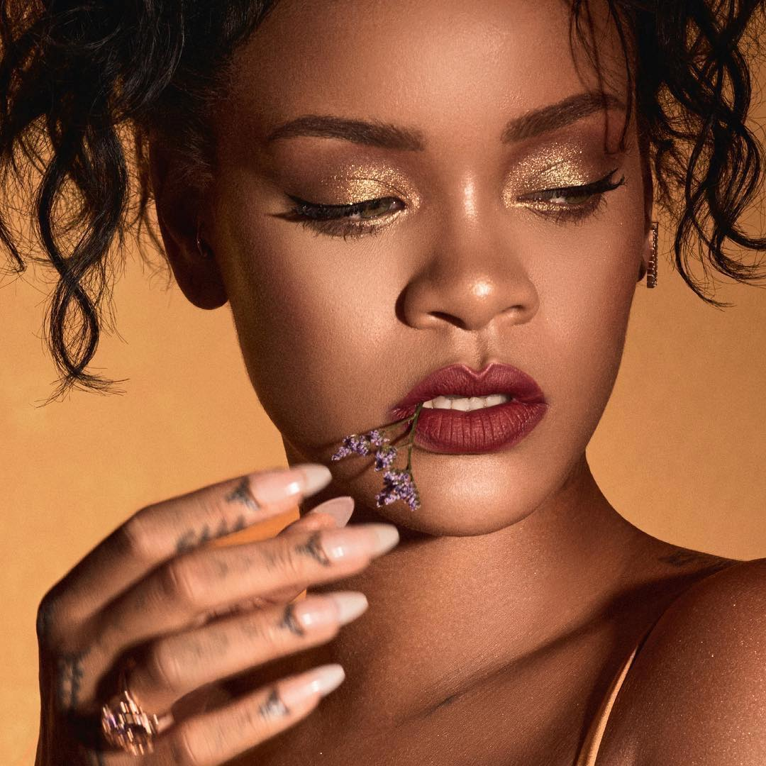 Rihanna S Makeup For Fenty Beauty Moroccan Spice Collection Haus