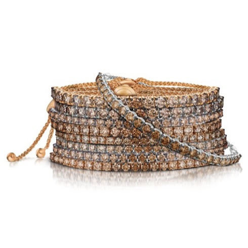 Le Vian chocolate diamond bangles as seen on Rihanna