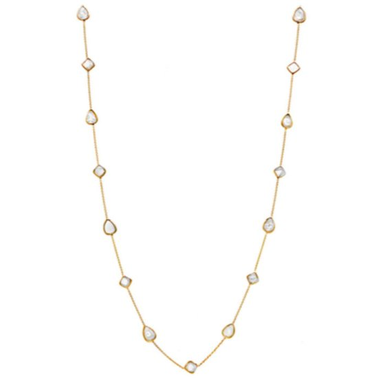 Djula sliced diamond necklace as seen on Rihanna