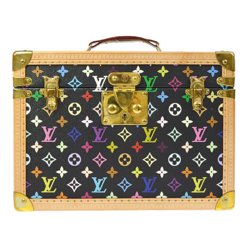 Louis Vuitton x Takashi Murakami monogram boite pharmacie as seen on Rihanna