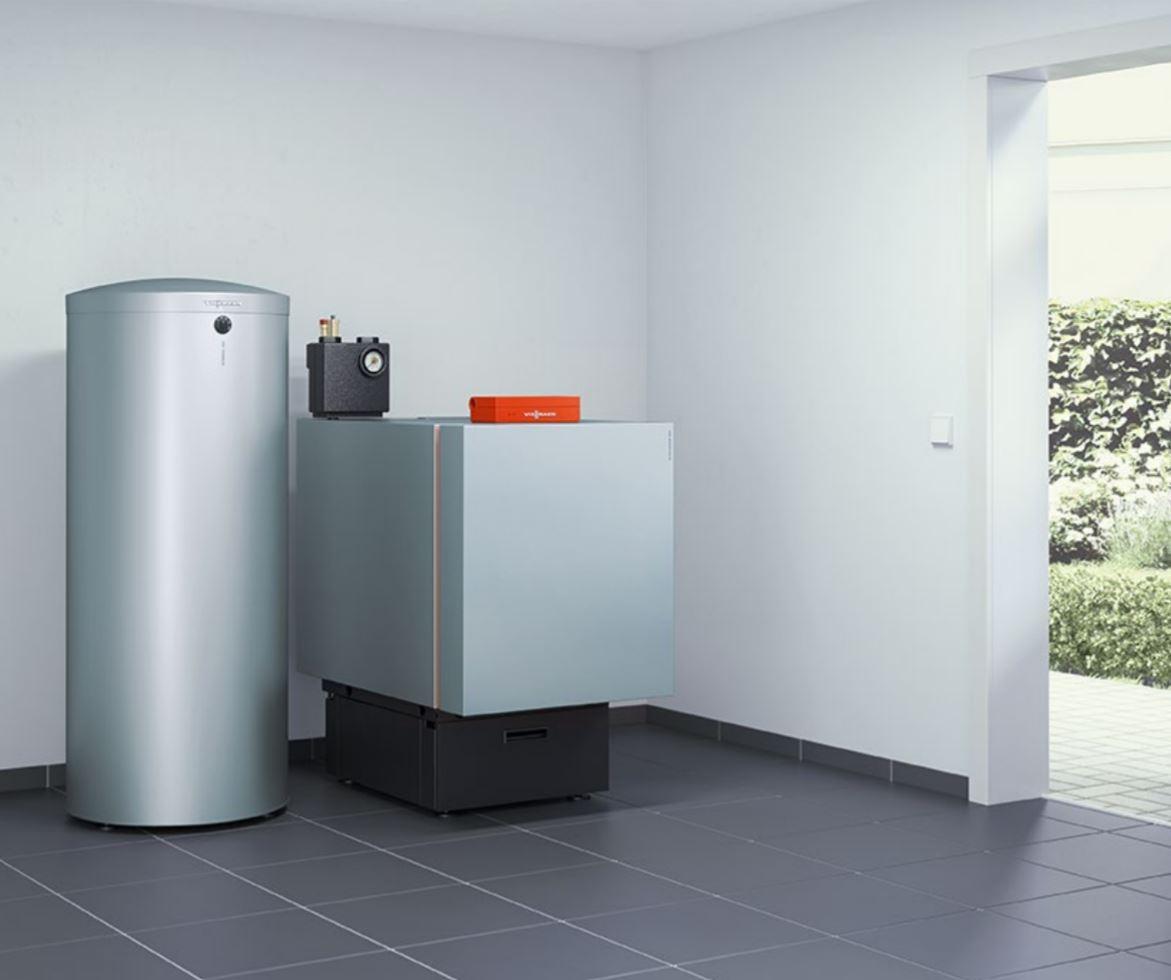 Speicher-Wassererwärmer aus Edelstahl in Kierspe