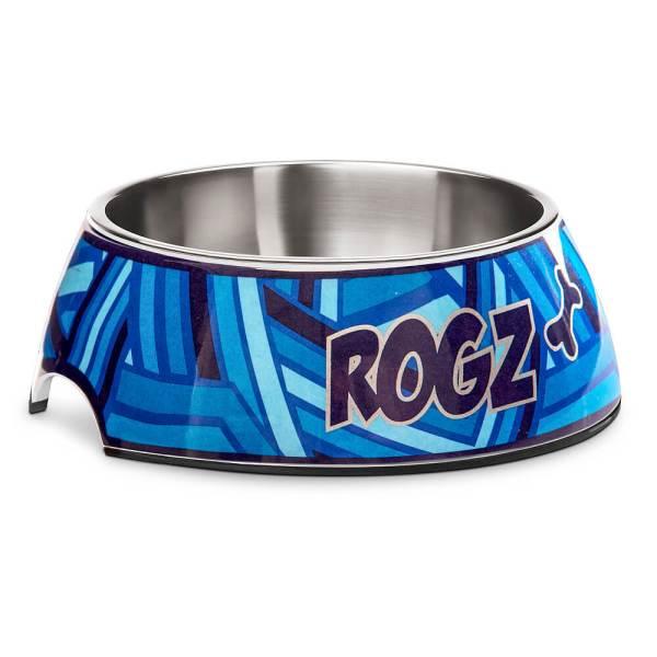 rogz Hundenapf Bubble Bowlz Navy Zen blau L (700ml) M (350ml) S (160ml)