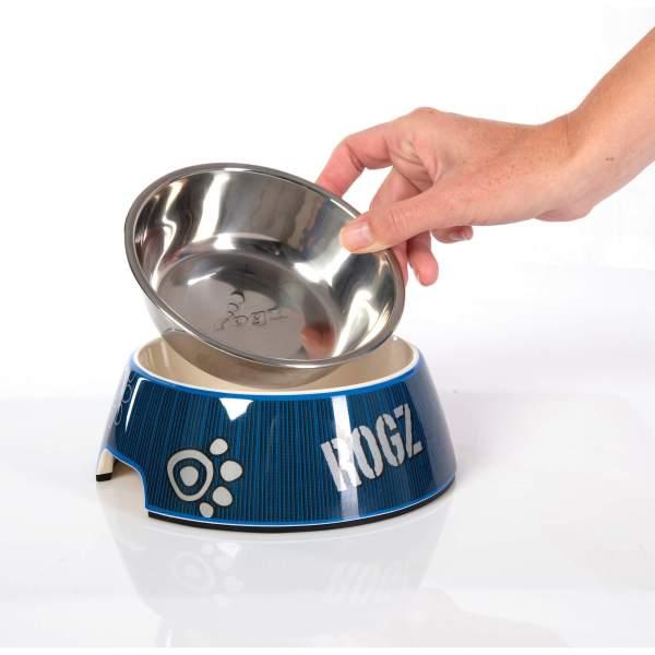 rogz Hundenapf Bubble Bowlz NavyBlue L (700ml)|M (350ml)|S (160ml)