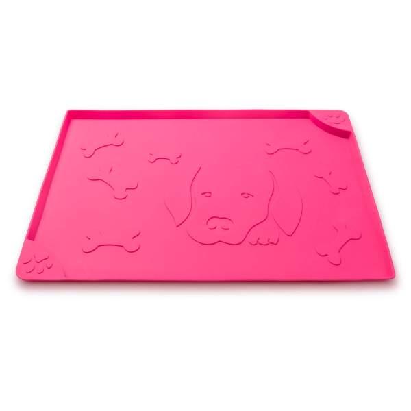 Freezack Napfunterlage Square Dog & Bone pink