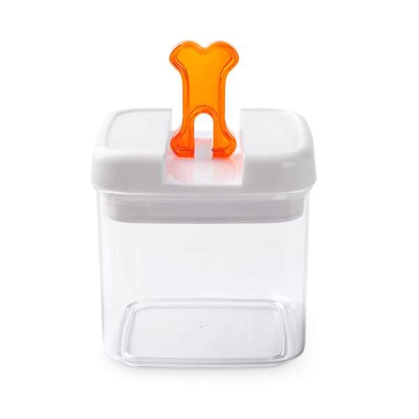 Futtercontainer Flip Tite Knochen orange L (2.4L)|M (1.8L)|S (1L)
