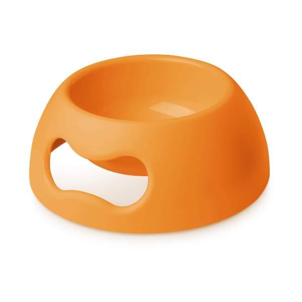 United Pets Hundenapf Pappy Bowl Fluo orange L (2.2L)|M (1.1L)|S (350ml)
