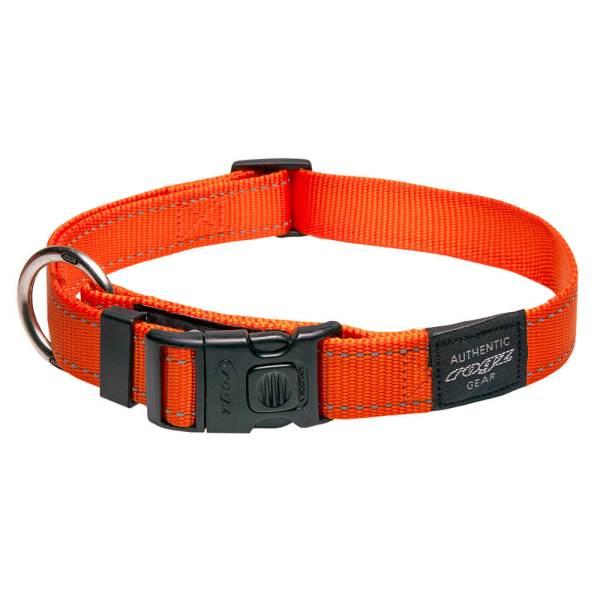 rogz Hundehalsband Utility orange M (26-40cm) 16mm