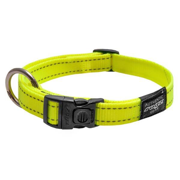 rogz Hundehalsband Utility gelb L (34-56cm) 20mm