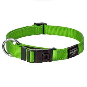 rogz Hundehalsband Utility lime L (34-56cm) 20mm|M (26-40cm) 16mm|S (20-31cm) 11mm|XL (43-70cm) 25mm|XS (16-22cm) 11mm