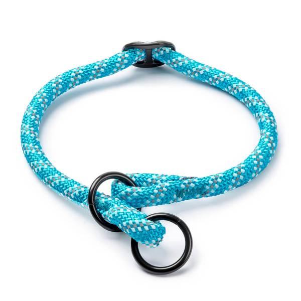 Freezack Hundehalsband Rope blau L (40-45cm) 12mm|M (35-40cm) 8mm|S (30-35cm) 8mm|XL (45-50cm) 12mm