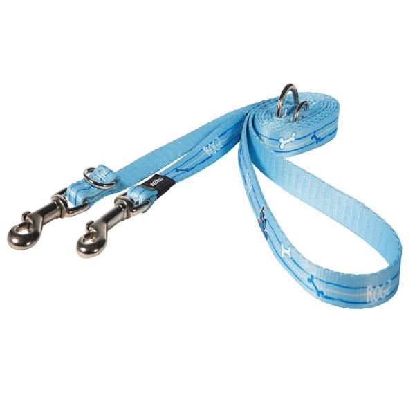 rogz Hundeleine YoYo blau M (180cm) 16mm|S (180cm) 12mm|XS (180cm) 8mm
