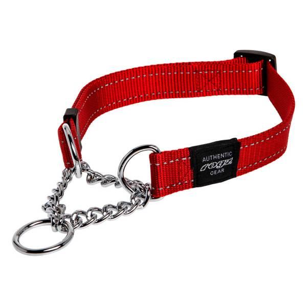 rogz Stop Hundehalsband Utility rot L (40-56cm)