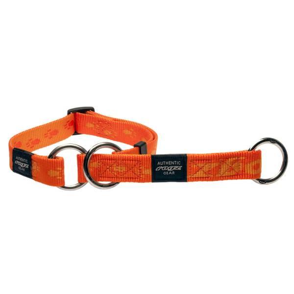 rogz Stop Hundehalsband Alpinist orange L (34-56cm) M (26-40cm) XL (43-70cm)