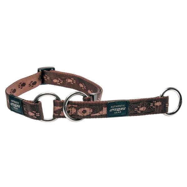 rogz Stop Hundehalsband Alpinist braun L (34-56cm)|M (26-40cm)|XL (43-70cm)