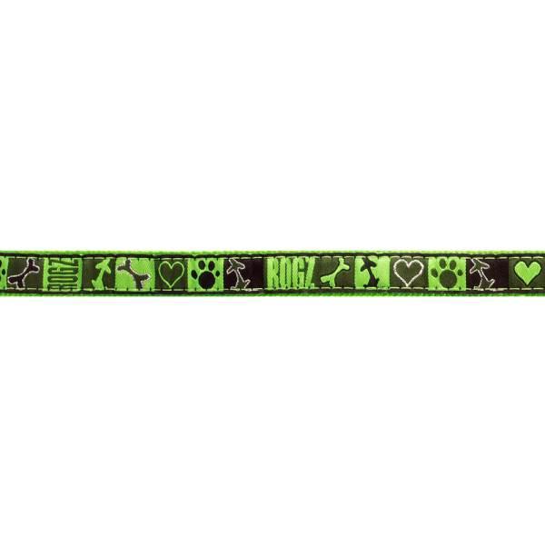 rogz Hundegeschirr Fancy Dress Lime Juice grün XL (60-100cm) 25mm