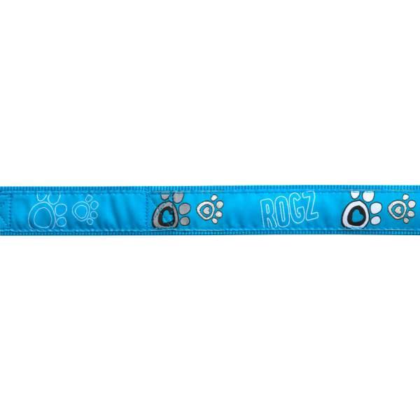 rogz Hundegeschirr Fancy Dress Turquoise Paw L (45-75cm) 20mm M (32-52cm) 16mm S (23-37cm) 11mm XL (60-100cm) 25mm