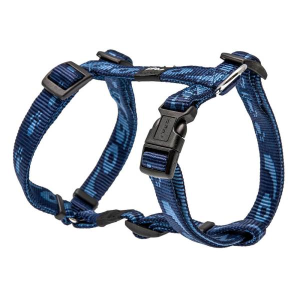 rogz Hundegeschirr Alpinist blau L (45-75cm) 20mm M (32-52cm) 16mm S (23-37cm) 11mm XL (60-100cm) 25mm