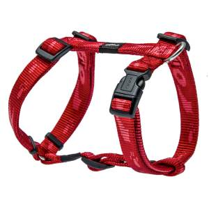 rogz Hundegeschirr Alpinist rot L (45-75cm) 20mm M (32-52cm) 16mm S (23-37cm) 11mm XL (60-100cm) 25mm