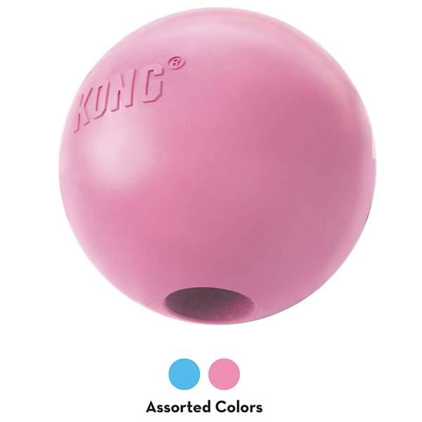 KONG Welpenspielzeug Puppy Ball Hole assortiert M (7.5x7.5cm) S (6.5x6.5cm)