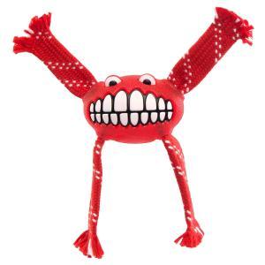 rogz Hundespielzeug Flossy Grinz rot L (24cm)
