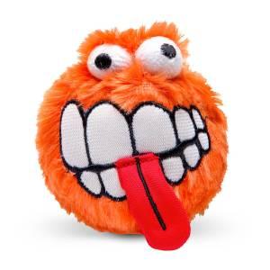 rogz Hundespielzeug Plush Grinz orange L (8cm)|M (6.5cm)|S (5.5cm)