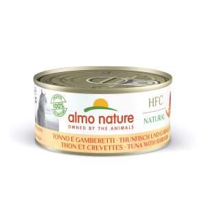 Almo HFC Natural Thunfisch und Garnelen (24x 150g)