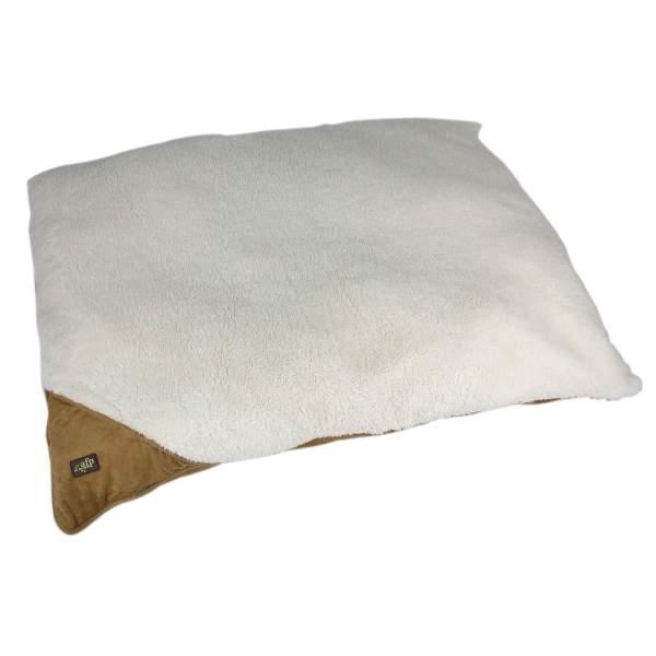 All For Paws Hundebett Lambswool beige L (107x74x7cm)|M (91.5x69x7cm)|S (74x58.5x7cm)