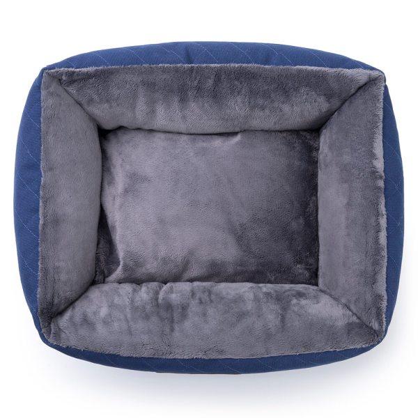 Freezack Hundesofa kNight blau/grau L (65x55x25cm) M (55x45x23cm) S (45x35x21cm)
