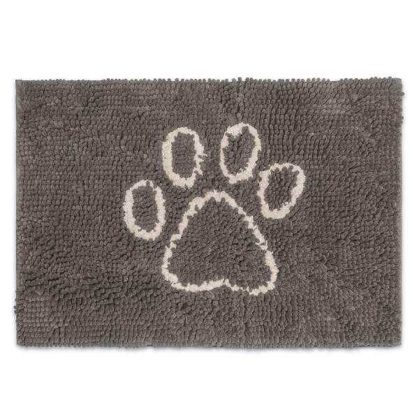 Dog Gone Smart Hundematte Dirty Dog Doormat Misty Grey 80x50cm|90x66cm