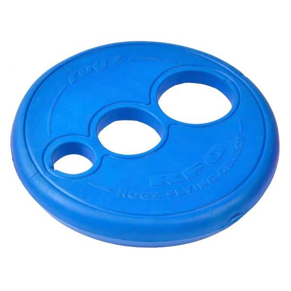 rogz Hundefrisbee Flying Floating Frisbee blau
