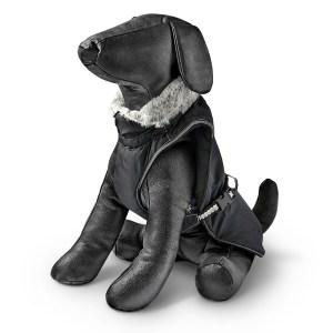 Freezack Hundemantel Yeti schwarz 20cm|22cm|25cm|28cm|32cm|36cm