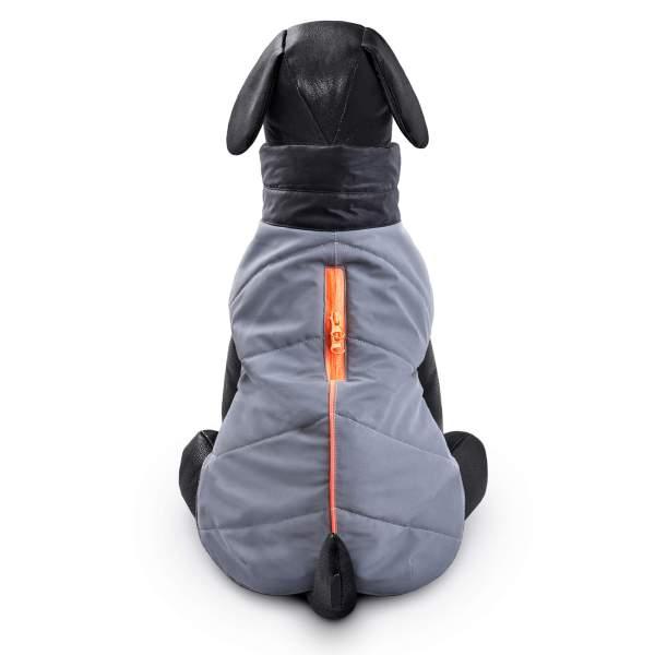 Hundemantel Full Reflecto grau 25cm|30cm|35cm|40cm|45cm|50cm