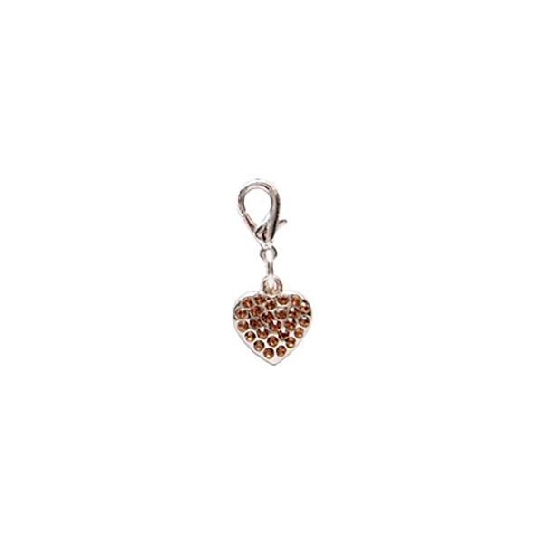 Dog Jewellery Heart gold