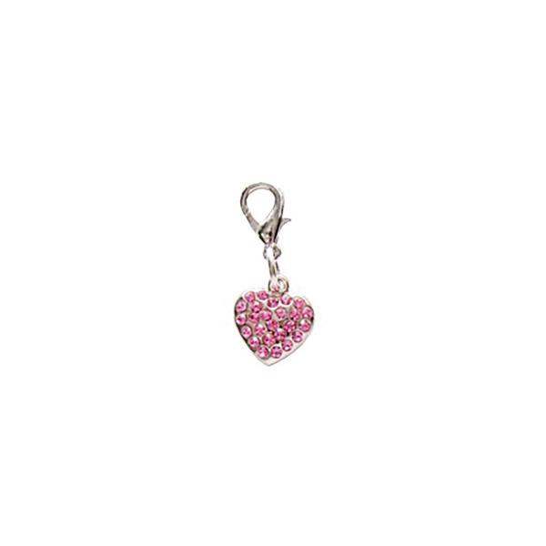 Dog Jewellery Heart rosa
