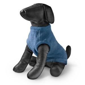 Freezack Hundepullover Switz blau 20cm 22cm 25cm 28cm 32cm 36cm 40cm 50cm 55cm