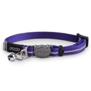 rogz Katzenhalsband ReflectoCat violett 16.5-23cm (8mm)|20-31cm (11mm)