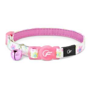 Freezack Katzenhalsband Glitter Flower pink (K)