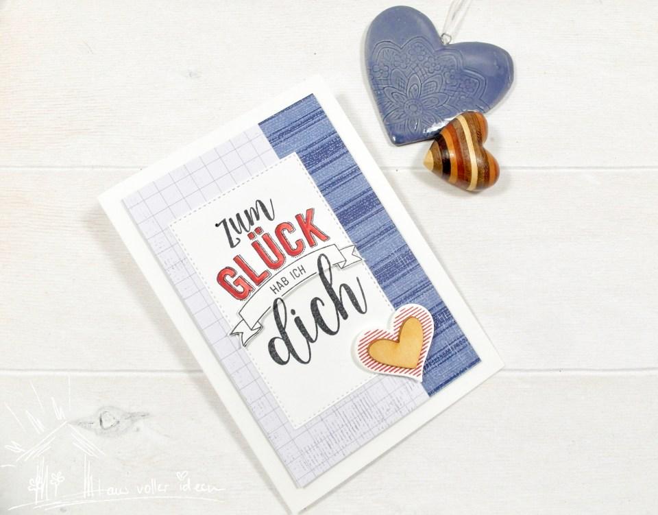 Männerkarte zum Hochzeitstag