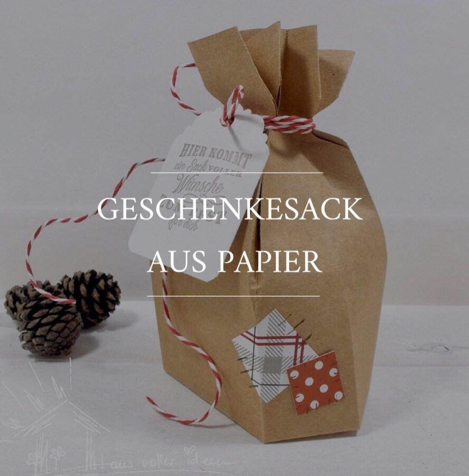 Geschenke Sack aus Papier